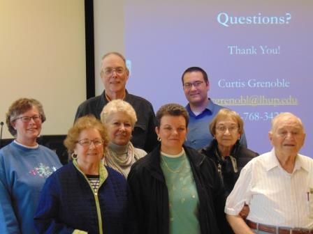 Clearfield Life-long Learning Institute Learns About Arthritis