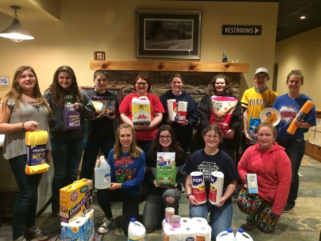 Clearfield Co. 4-H Teen Council Keeps Busy this Winter Season
