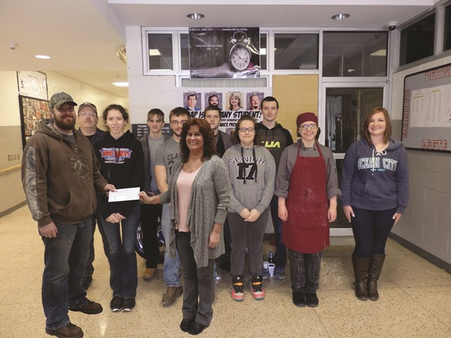 CCCTC Students Raise Funds for Boy with Neuroblastoma