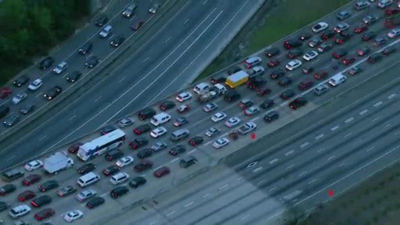 Portion of Interstate 85 shut down after fiery collapse in Atlanta