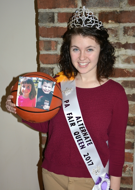 Fair Queen Court Gears Up for Steelers Footballers Basketball Game on April 2