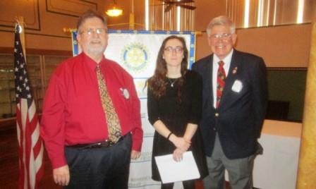 New Member Welcomed at Clearfield Rotary Meeting