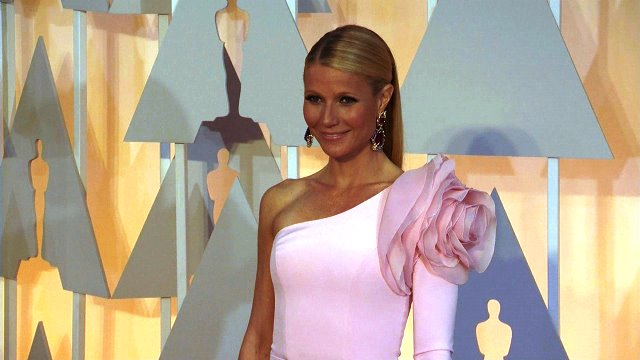 Gwyneth Paltrow lives clean but likes her humor dirty