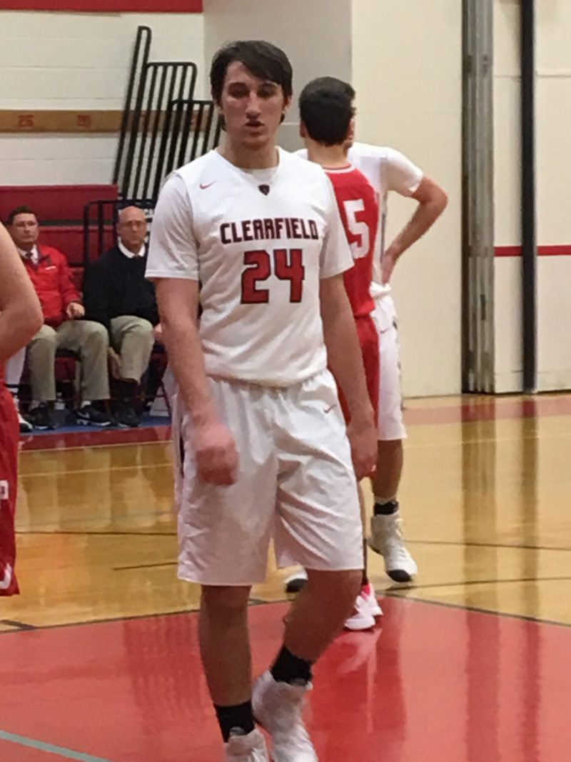Clearfield's Hazel Named to All-District 9 First Team; Teammates Myers, Brown Tabbed for Second Unit