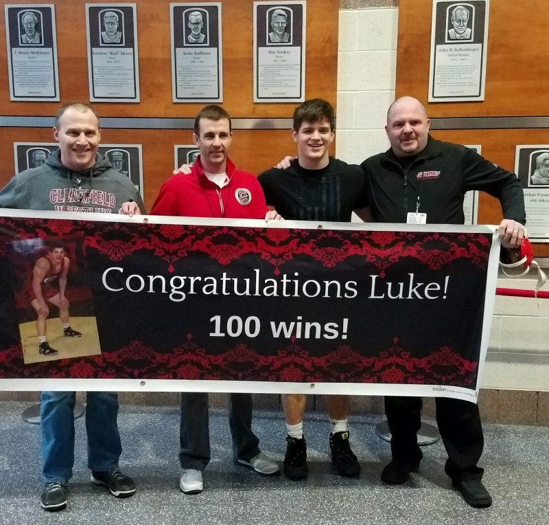 McGonigal Reaches PIAA Finals with Win Number 100