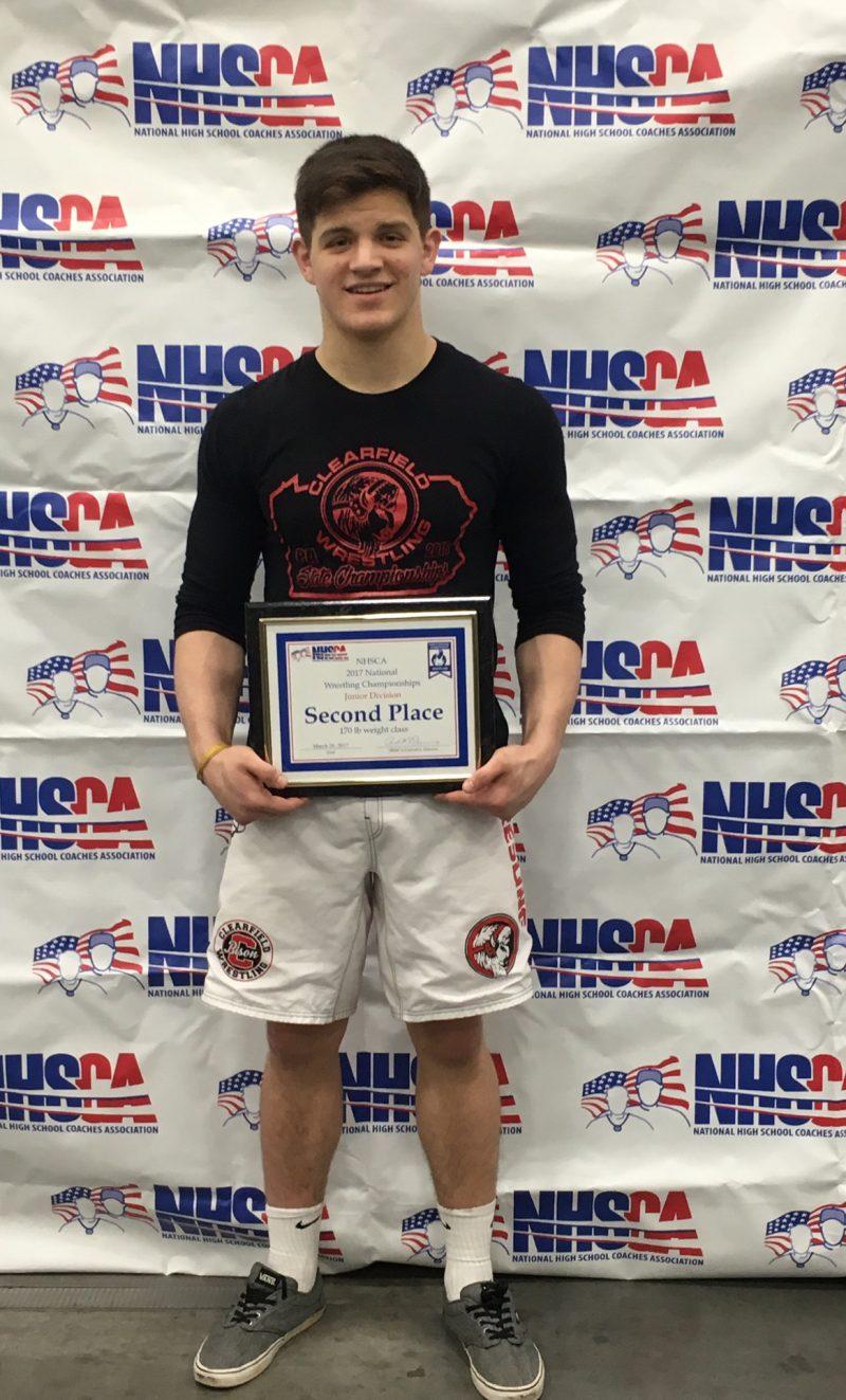 McGonigal Runner-Up at NHSCA Nationals