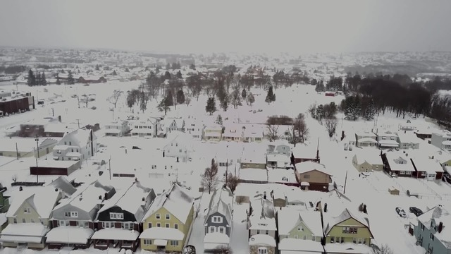 VIDEO: Pennsylvania Town Blanketed in White After Storm Hits U.S. Northeast