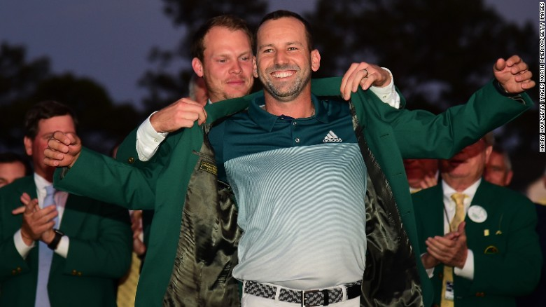 Masters 2017: Sergio Garcia beats Justin Rose in playoff