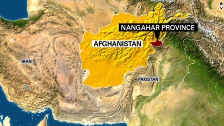 First on CNN US drops largest nonnuclear bomb in Afghanistan