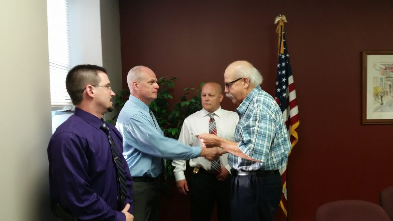 Neeper, Curry Receive Promotions