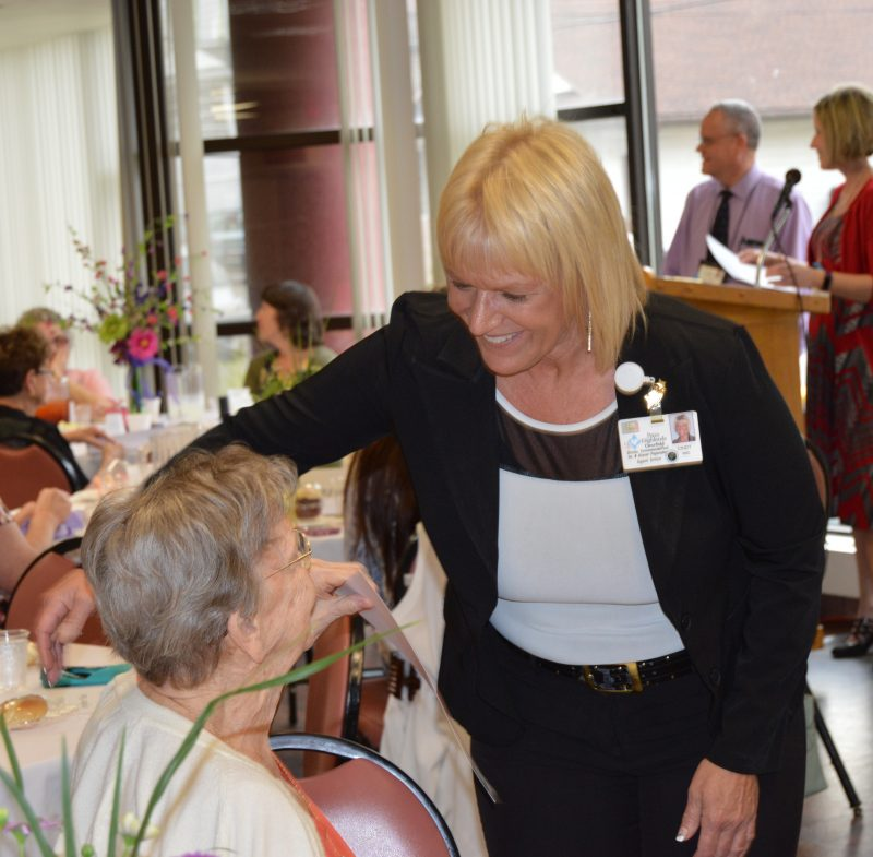 Volunteer Mauzzy Mohney Helps Bring Smiles To Patients and Visitors at Penn Highlands Clearfield