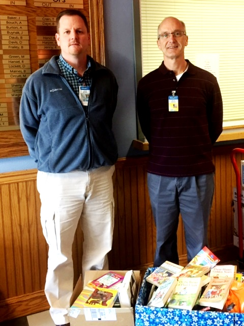 Clearfield United Way Receives Boxes of Books