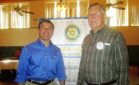 Clearfield Rotary Learns About Local Auto Industry