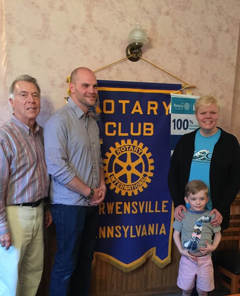 Curwensville Rotary Welcomes Elementary Teacher to Meeting