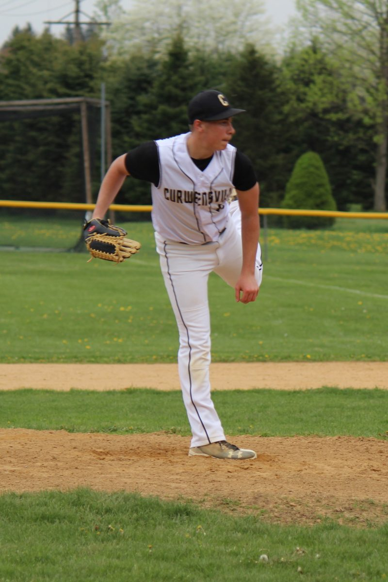 Timko Strikes Out 13 in Curwensville's Shut Out of Harmony