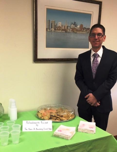 Beardsley Funeral Home Sponsors Refreshments for National Library Week