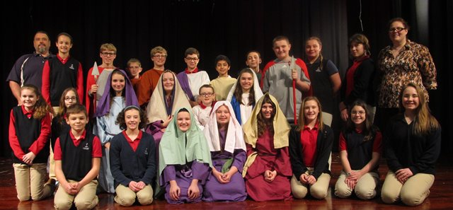 DuBois Central Catholic to Present Passion Play