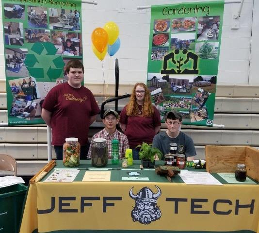 Jeff Tech Students Take Part in Earth Day Celebration
