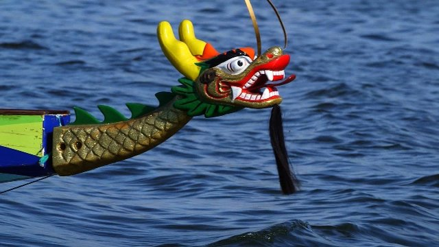 Finding fitness, serenity on a dragon boat