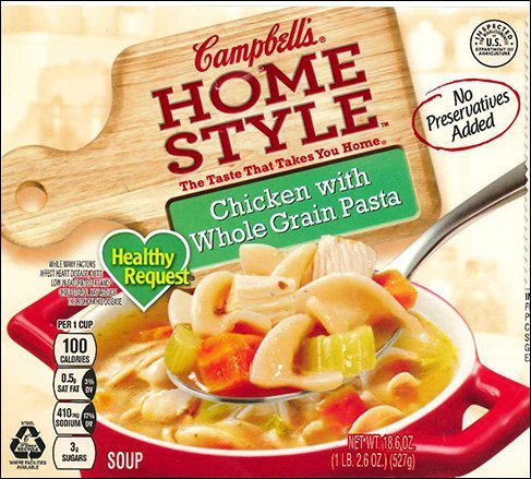 Campbell recalls 'Homestyle' chicken soup