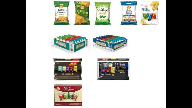 Jalapeno-flavored chips recalled over Salmonella fear