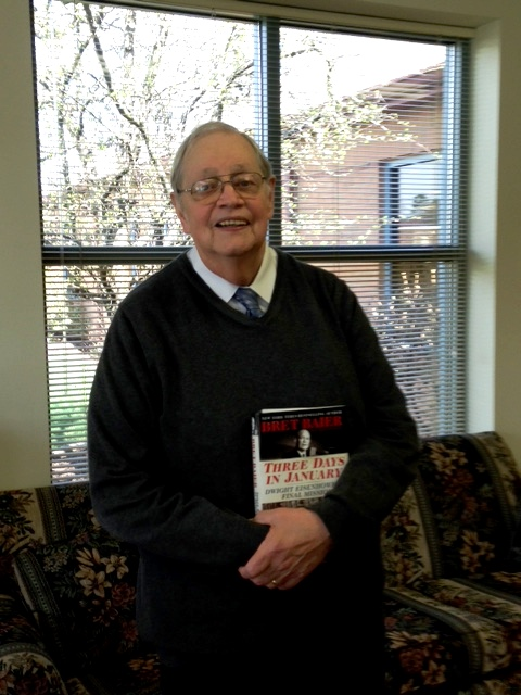 Ralston Shares Love and Knowledge of History at Books-Sandwiched-In