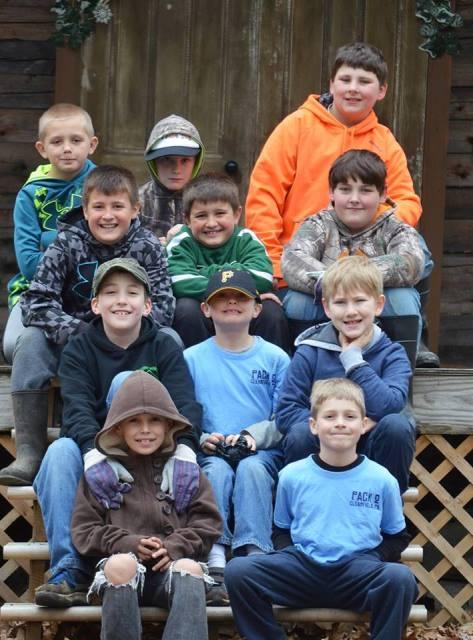 Scouts Help Clean-up Bilger's Rocks
