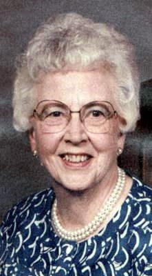 Obituary Notice: Ida Jean Peacock
