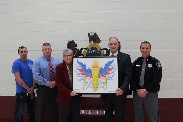 Quehanna Boot Camp Inmates Donate Painting