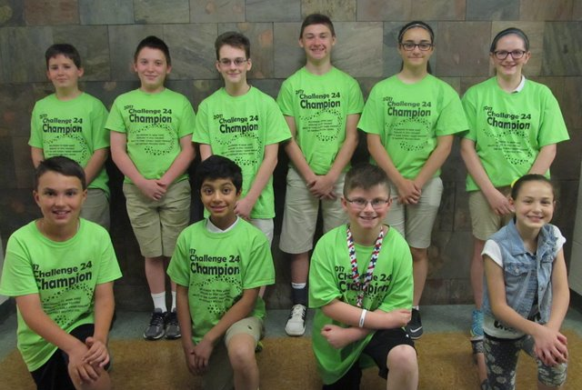 DuBois Central Catholic Hosts Challenge 24 Math Competition