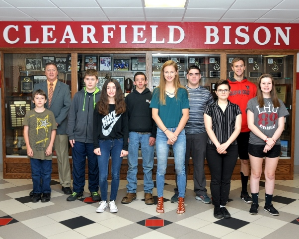 Clearfield Students of the Month for May