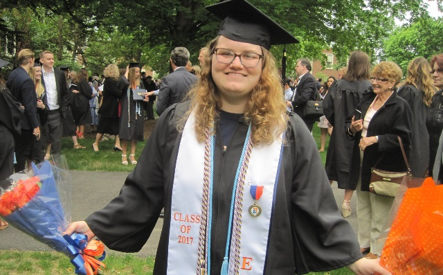 Pleskonko Receives Chemical Engineering Degree from Bucknell