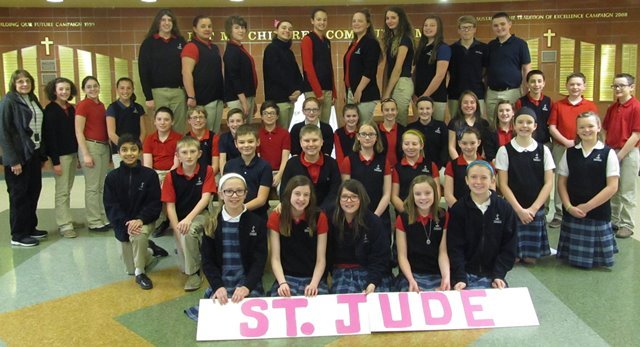 DCC Students Raise More Than $2,000 for St. Jude Children's Research Hospital