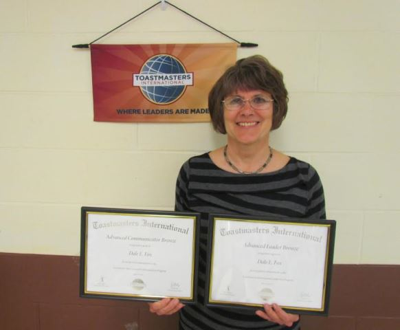 President of Elk Co. Toastmasters Receives Recognition for Advanced Achievements