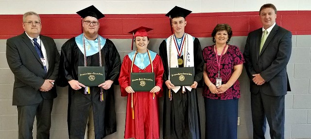Clearfield Students Receive Associate Degrees