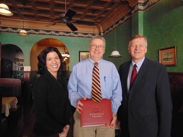 Special Clearfield Native Receives Degree at LHU Commencement