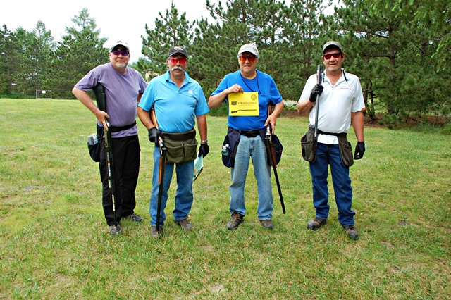 """Lee Industries Team Scores High at """"Shoot For The Magic"""" Fundraiser"""