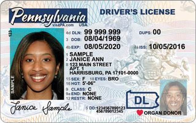 PennDOT to Phase In Newly-designed Driver Licenses, Identification Cards