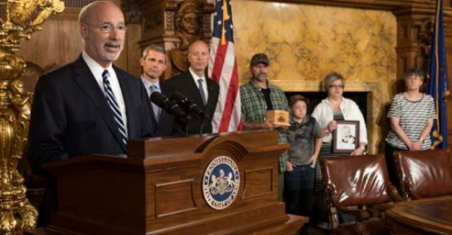 Governor Wolf Signs Law to Increase Penalties for Endangering Children