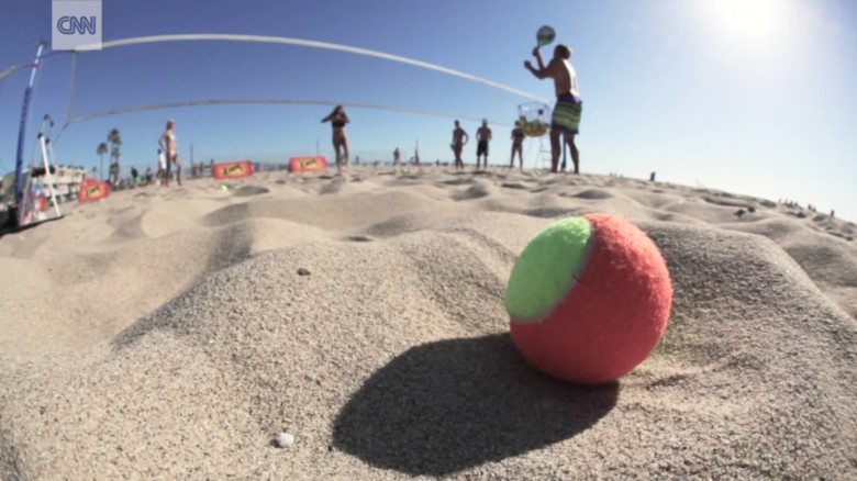 Beach tennis: Sun, sand and racquets help grow emerging sport