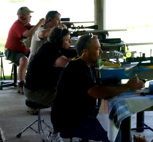 Sportsmen's Club Holds Groundhog Shoot