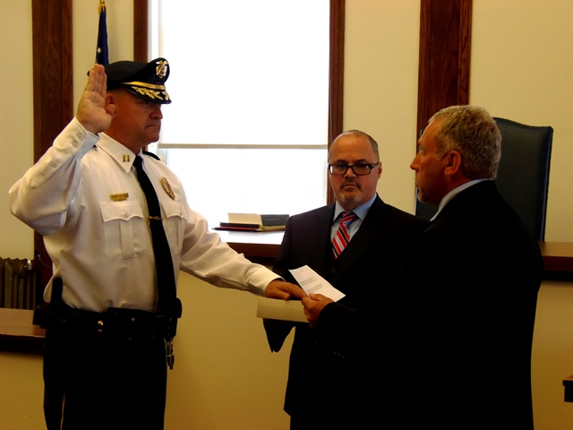 Clark Sworn in as Lawrence Twp. Police Chief