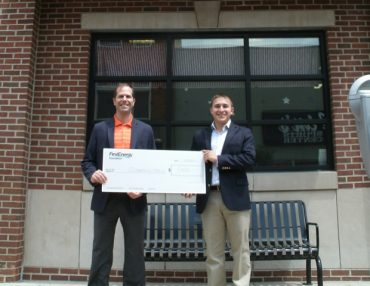 Clearfield YMCA Receives Donation for Annual Campaign