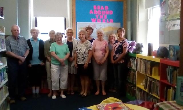 Volunteers Celebrate Fifth Anniversary of Osceola Mills Community Library