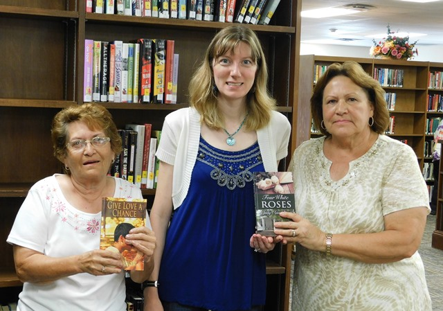 Local Authors Donate Recent Releases to Shaw Library