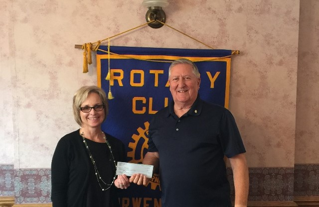Curwensville Rotary Donates to Blizzard Box Campaign