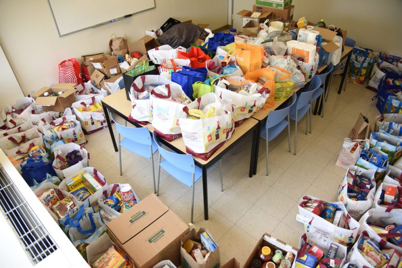 Class of 2021 Donations Fill Lion's Pantry Shelves