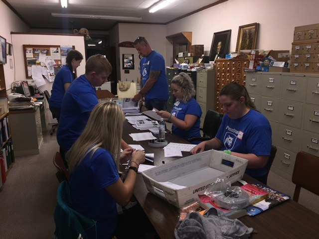 Penn State DuBois Students Serve Community for Outreach Day