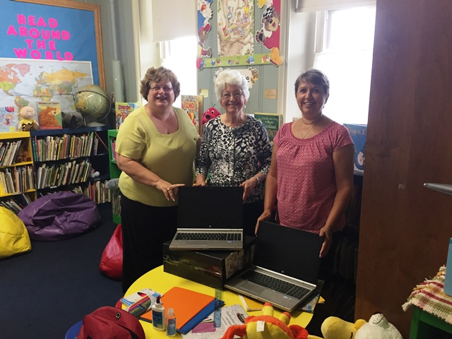 9dfad2887d Clearfield United Way Delivers Laptops