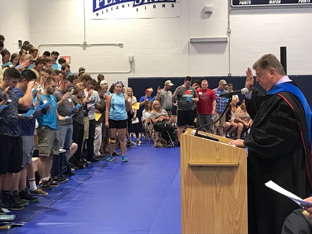 Penn State DuBois Welcomes New Students for Kick-off of Academic Year